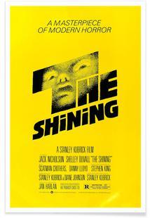 'The Shining' Retro Movie Poster