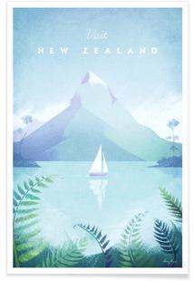 New Zealandby Henry RiversPremium Posterfrom U20ac 5,99