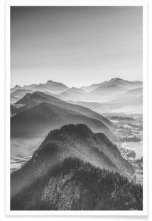 Balloon Ride Over The Alps 3by Nur MutPremium Posterfrom U20ac 5,99