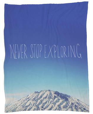Never Stop Exploring Plaid