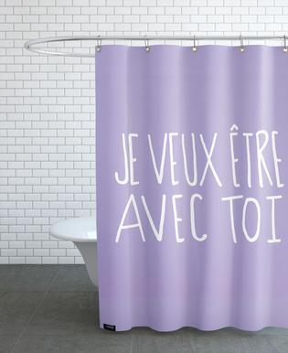 Je Veux Shower Curtain