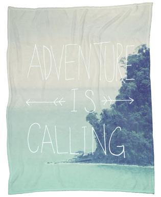 Adventure is Calling Plaid