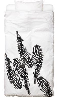 Zebra Linge de lit enfant