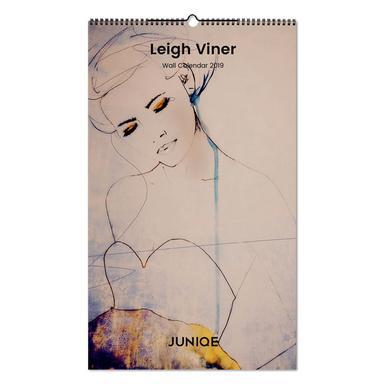 Leigh Viner 2019 Wall Calendar