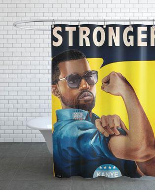 Stronger #2 douchegordijn