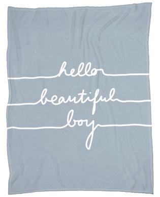Hello Beautiful Boy Plaid