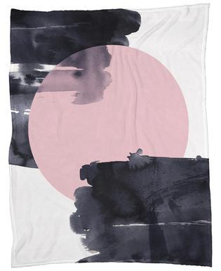 Minimalism 20 Fleece Blanket