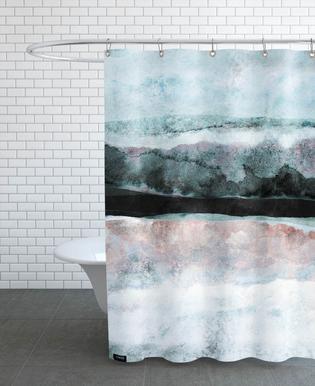 Watercolors 24X Shower Curtain