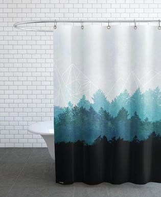 Woods Abstract As Shower Curtain By Mareike Bhmer