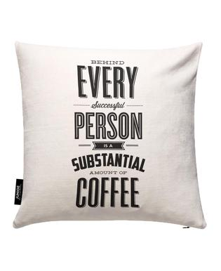 Behind Every Person Cushion Cover
