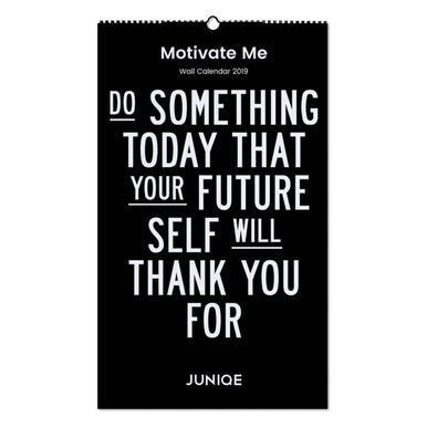 Motivate Me 2019 Wall Calendar