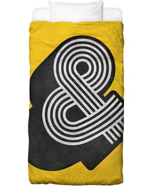 Ampersand Yellow Bed Linen