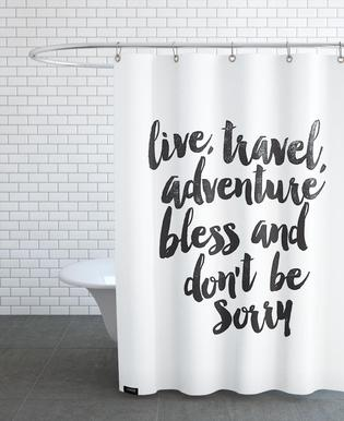 Quotes Slogans Shower Curtains