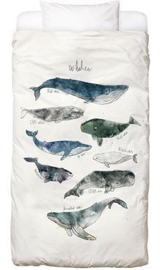 Whales Linge de lit enfant