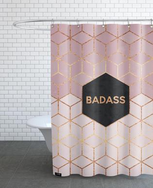 badass shower curtains. Badass - Elisabeth Fredriksson Shower Curtain Curtains