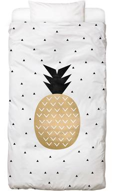 Golden Pineapple Linge de lit