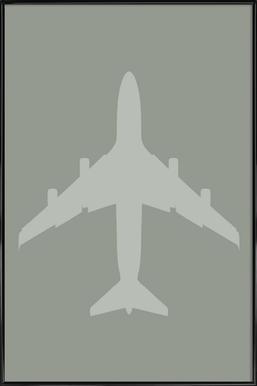 The Jet Poster Framed Poster