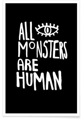 All Monsters Are Human Poster