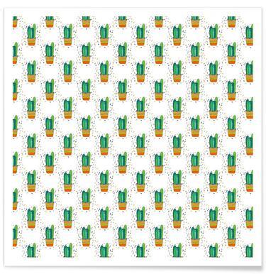 Cacti Cactus Poster