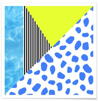 Post Modern Summer Poster