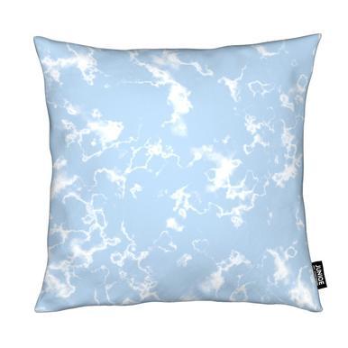 Marble Baby Blue Cushion