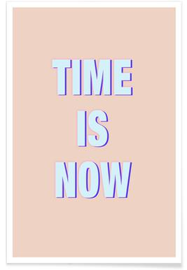 Time Is Now Poster