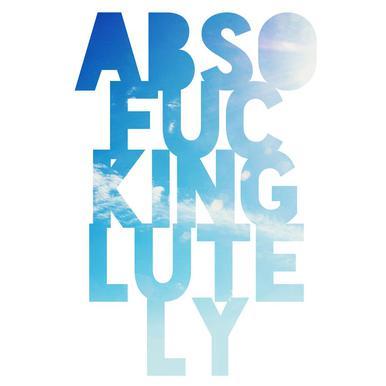Abso...lutely! Acrylglasbild