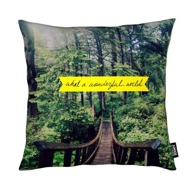What a Wonderful World Coussin