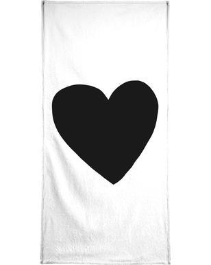 Big Heart Bath Towel