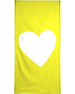 Sunshine Heart Bath Towel