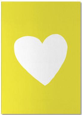Sunshine Heart Notepad