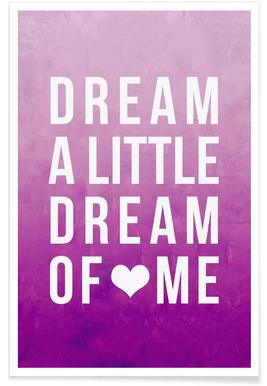 Dream Pink Poster