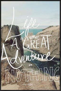 Great Adventure Poster in Standard Frame