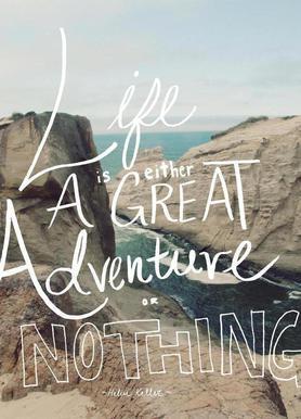 Great Adventure Leinwandbild