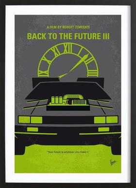 Back to the Future III Framed Print