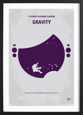 Gravity Framed Print