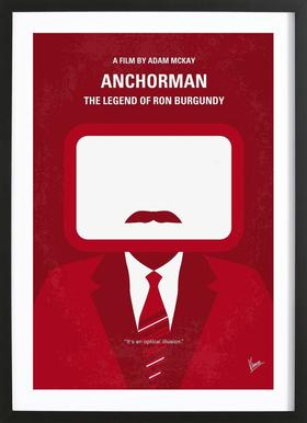 Anchorman Framed Print