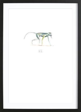 Mr. Framed Print