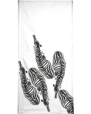 Zebra Hand & Bath Towel