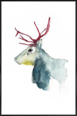 Reindeer 3 Framed Poster