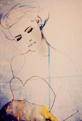 Abstractions Aside Acrylglasbild