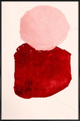 Untitled 2830 Poster im Kunststoffrahmen