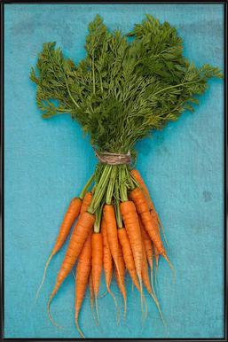 Carrots Affiche sous cadre standard
