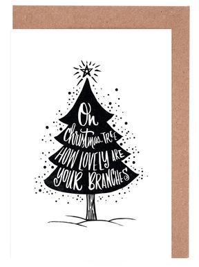 Oh Christmas Tree wenskaartenset