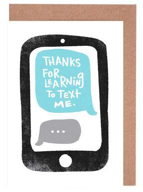 Moms Text Set de cartes de vœux