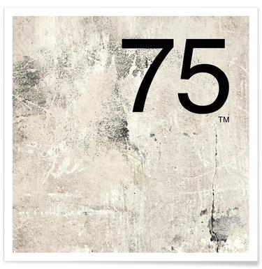75. Helvetica Affiche