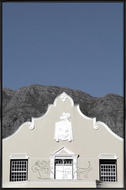 Mainstream (Franschoek, South Africa) ingelijste poster