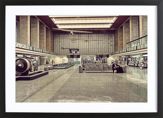 Tempelhof ingelijste print