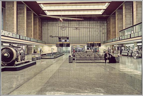 Tempelhof poster in aluminium lijst