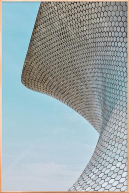 Soumaya 01 Poster in Aluminium Frame